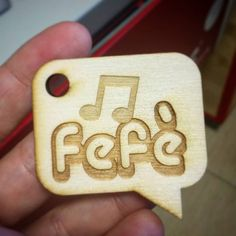 My #first #work with #lasercut at #fablab #cut #laser #name #nickname #wood #note #music #keychain #workshop #illustrator #experiment #prototype #workout #gadget #font #creative #design #designer #art #2d #personal by nanasupergirl82