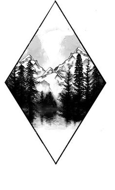 Without the mountains and with a moon - Natur-Tattoos - Tatoo Ideen Trendy Tattoos, Cute Tattoos, Body Art Tattoos, New Tattoos, Sleeve Tattoos, Hard Tattoos, Spine Tattoos, Cover Up Tattoos, Natur Tattoos