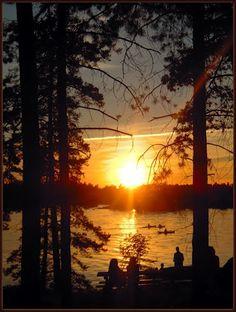 Midsummer night sunset from Seurasaari - Helsinki, Finland by Petteri Kantokari - see his set of photos on Panoramia for even more great photos.