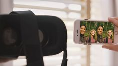 EYSE : VR HEADSET COMPATIBLE EYSE WORKS WITH YOUR VR HADSET. PLACE YOUR SMARTPHONE INTO THE VR HEADSET TO VIEW 3D.