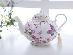 Kelebek Porcelain Pot Mint - KITCHEN > Kitchen Accessories > Tea Spoons