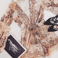 Just in time for the weekend ✨ Starlight Sequin Romper