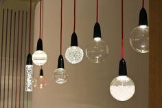 Baladeuse déco lampe ampoule Nud Collection. décoration d'intérieur luminaire ampoule ronde suspendue