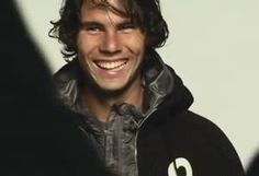 Rafa. That smile!!!