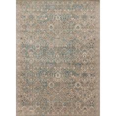 Alexander Home Kendrick Bluestone Rug (5'3 x 7'6) (Bluestone (5'3 x 7'6)), Beige (Polypropylene, Animal)