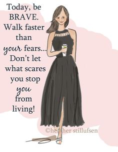Walk faster than your fears Rose Hill design