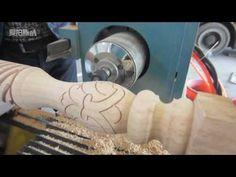 Outomatiese hout CNC draai maal en draaibank sny en gravure masjien Cnc, Leg Machines, Lathe Machine, Wood Lathe, Furniture Legs, Door Handles, Google, Youtube, Wood Columns