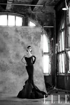 Donna Karan New York (editorial from Elle Magazine, January 2012)