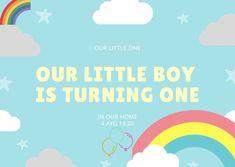 Our birthday invitation🎈 Baby Birthday, Little Boys, Birthday Invitations, Greek, Rainbow, Lifestyle, Stars, Toddler Boys, Greek Language