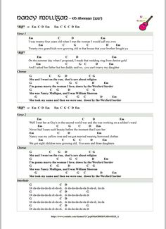 Nancy Mulligan Ed Sheeran Ukulele Chords Riff Page 1 Ukulele in my mind (Tutorial on YouTube)