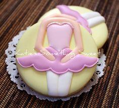 ballerina cookies. so sweet.
