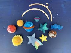 Excited to share this item from my #etsy shop: Galaxy themed mobile, planet baby mobile, galaxy room decor, planet garland Galaxy Nursery, Galaxy Room, Galaxy Art, Nursery Decor, Room Decor, Baby Decor, Decor Planet, Galaxy Theme, Rainbow Decorations
