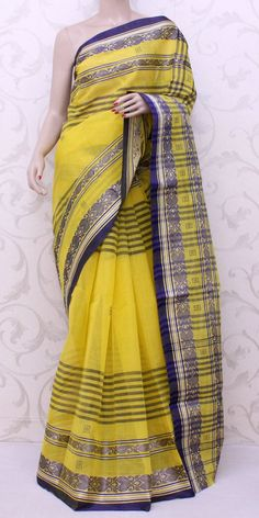 Bengal Handloom Tant Saree (Cotton) 13202