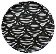 Fröjd tray black/white  #nordicdesigncollective