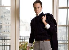 The Big Bang Theory--Sheldon played by Jim Parsons Jim Parsons, Big Bang Theory Show, Glamour Photo Shoot, The Bigbang Theory, Geek Chic, Look Cool, Gorgeous Men, Beautiful, Bowser