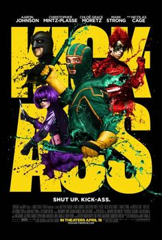 Kick-Ass Slideshow - Kick-Ass Pics Featuring Aaron Johnson, Nicolas Cage, Christopher Mintz-Plasse, Chloe Grace Moretz, and Mark Strong Nicolas Cage, See Movie, Movie List, Movie Tv, Crazy Movie, Hit Girls, Movies Showing, Movies And Tv Shows, Chloë Grace Moretz
