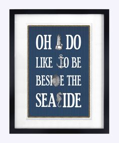 Bathroom Decor, Bathroom Art, Nautical Decor, Nautical Print, Bathroom Print. $18.50, via Etsy.