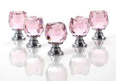 Zogin Rose Cristale Poignée  Porte Tiroir Cabinet