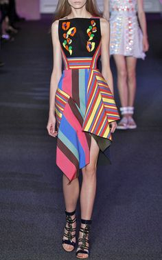 Peter Pilotto Look 24 on Moda Operandi