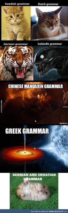 thesis grammar