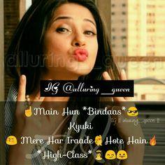 Hehehe Happy Girl Quotes, Besties Quotes, Crazy Girl Quotes, Funny Quotes For Kids, Maya Quotes, Sassy Quotes, Crazy Girls, Girly Quotes, Romantic Quotes