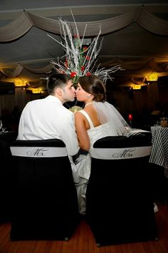 Scarpaci Photography, mr and mrs sashes, old hollywood glam wedding