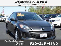 2012 *Mazda*  *Mazda3* *i* *Touring* Call for Price  miles 925-239-4185 Transmission: Automatic  #Mazda #Mazda3 #used #cars #AntiochChryslerJeepDodgeRam #Antioch #CA #tapcars