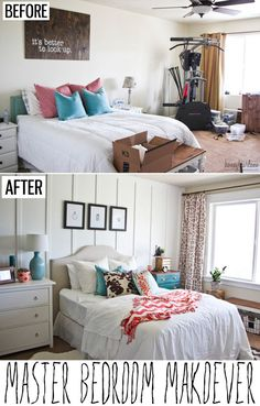 "A great bedroom makeover that is ""doable""."