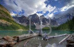 Moraine Lake Canvas Wall Art by CanvasingtheOutdoors on Etsy