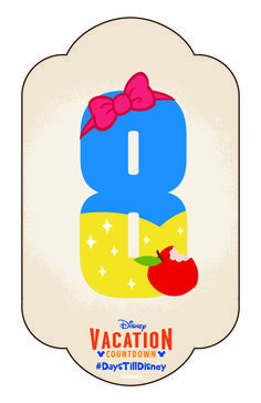 Click to learn how to create your own Disney Vacation Countdown calendar and share your DIY craft with #DaysTillDisney!