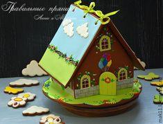 """Купить Пряничный домик """"Свинка Пеппа"""" - пряничный домик, пеппа, домики, пряничный домик на заказ"""