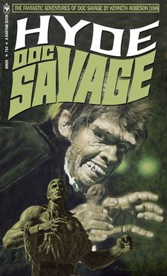 "This series is especially clever in combining different Bama paintings, often to stunning effect. DOC SAVAGE Fantasy Cover Gallery. New cover designs created by Keith ""Kez"" Wilson. Original covers by James Bama and Bob Larkin.Startlingly moody and VERY reminiscent of vintage Doc!"