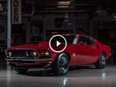This Restored 1969 Ford Mustang Boss 429 Is A Time Warp Back To American Muscle