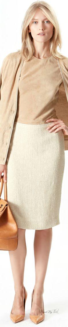 Ralph Lauren ~ Tan + Cream Resort Wear 2016