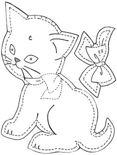 Gingham Dog & Calico Cat Crib Quilt