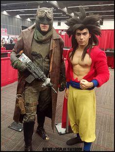 Batman desert cosplay batman nightmare batwill comic con Montreal 2016 sangoku