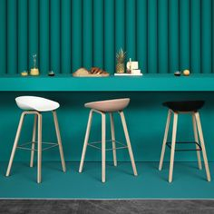 Bar & Counter Stools Furniture featuring Bar Stools and more on Danish Design Store. Kitchen Stools, Counter Stools, Kitchen Island, Danish Furniture, Furniture Design, 60s Furniture, Decoration Inspiration, Home Living, Modern Living