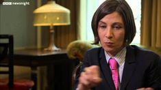 NEWSNIGHT: Kirsty Wark interviews author Donna Tartt about 'The Goldfinch'