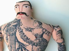 by Mimi Kirchner. I love all her work.  But this guy's mustache reminds me of my dad.