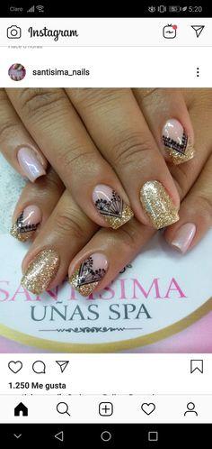 Facial Treatment, Easy Nail Art, Simple Nails, Short Nails, Nail Designs, Make Up, Nail Ideas, Beauty, Work Nails