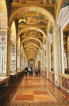 Inside the Hermitage Museum (The Loggias of Raphael), St Petersburg