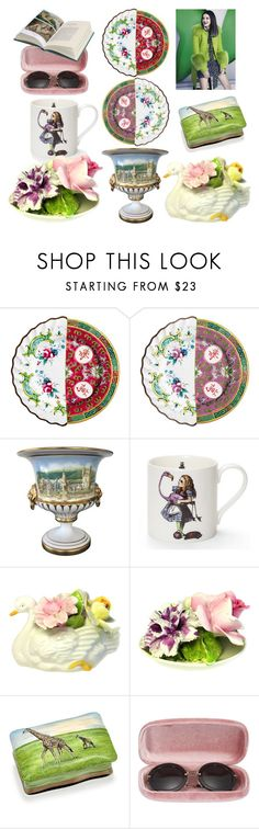 """""""Jeanny, quit livin' on dreams, life is not what it seems..."""" by didesi ❤ liked on Polyvore featuring interior, interiors, interior design, home, home decor, interior decorating, Seletti, Spode, Sophie Allport and Miu Miu"""