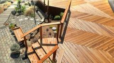 diagonal deck