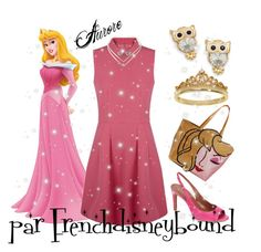 """Aurore (Sleeping Beauty)"" by frenchdisneybound ❤ liked on Polyvore featuring Eternally Haute, BillyTheTree, Natalie B, Cole Haan, disney, sleepingbeauty and disneybound"