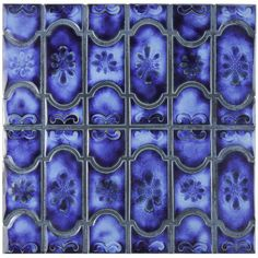 Found it at AllModern - Mondego Porcelain Mosaic Tile in Blue