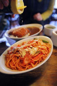 喫茶チロル:イタリアンスパゲティー