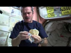 "Making a Peanut Butter & Honey ""Sandwich"" in Outer Space 