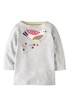 Mini Boden 'Kaleidoscope Appliqué' Tee (Toddler Girls, Little Girls & Big Girls) | Nordstrom
