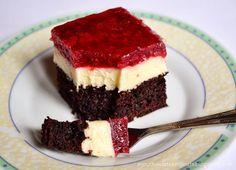 Ciasto czekoladowe z masą budyniową i...