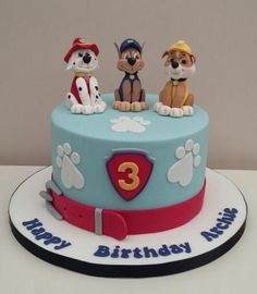 Paw Patrol by The Buttercream Pantry